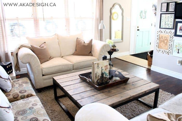 brickmaker's coffee table | www.akadesign.ca