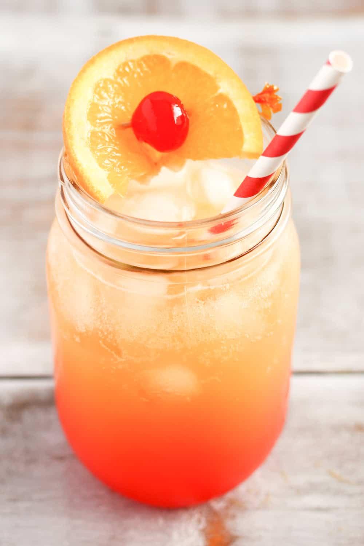 orange juice, lemon lime soda, grenadine