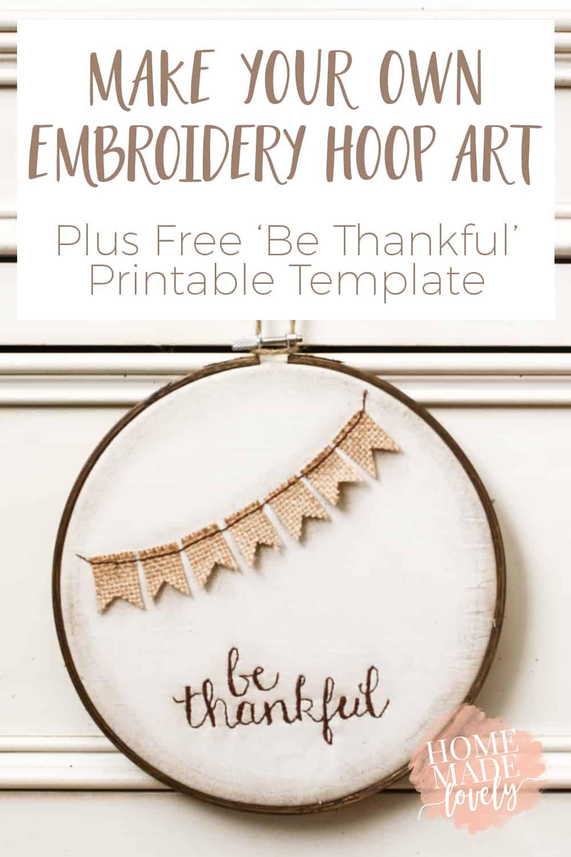 embroidery hoop art pin