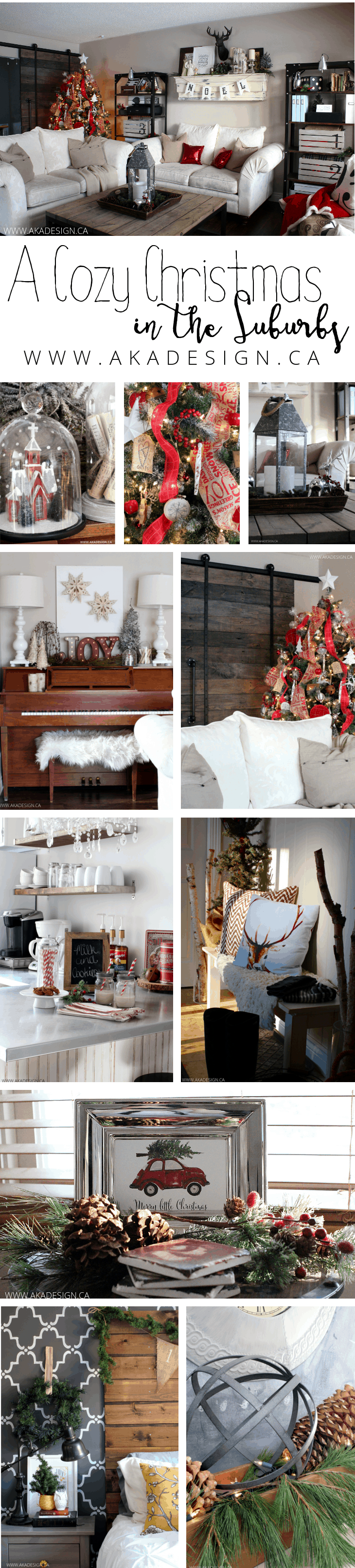 cozy christmas in the suburbs tour