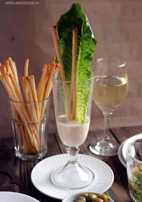 The Best Caesar Salad Dressing Recipe! (And it's dairy free!)