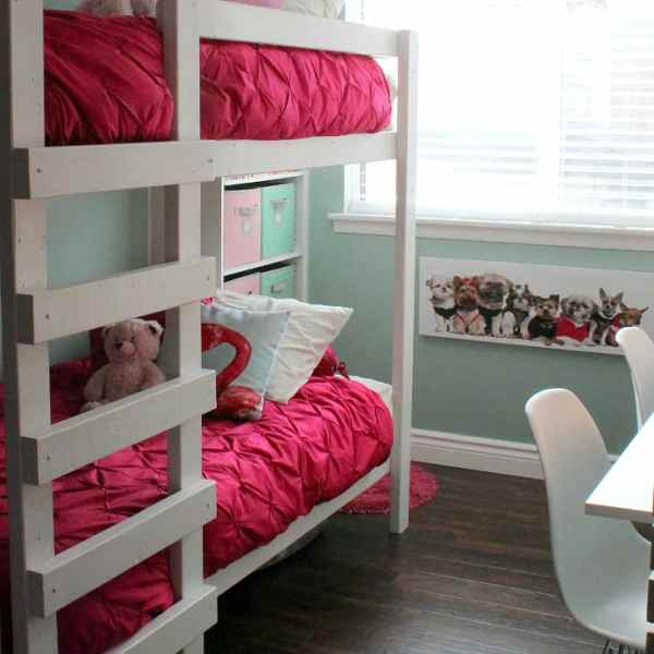Colorful Shared Girls Room