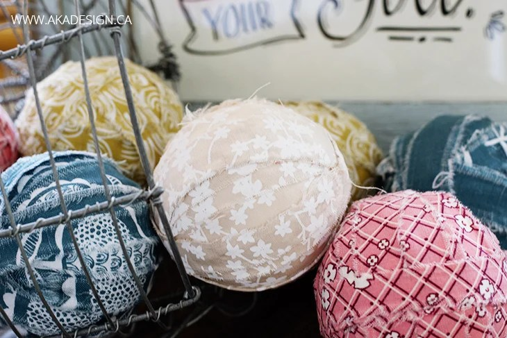 cotton and foam rag balls