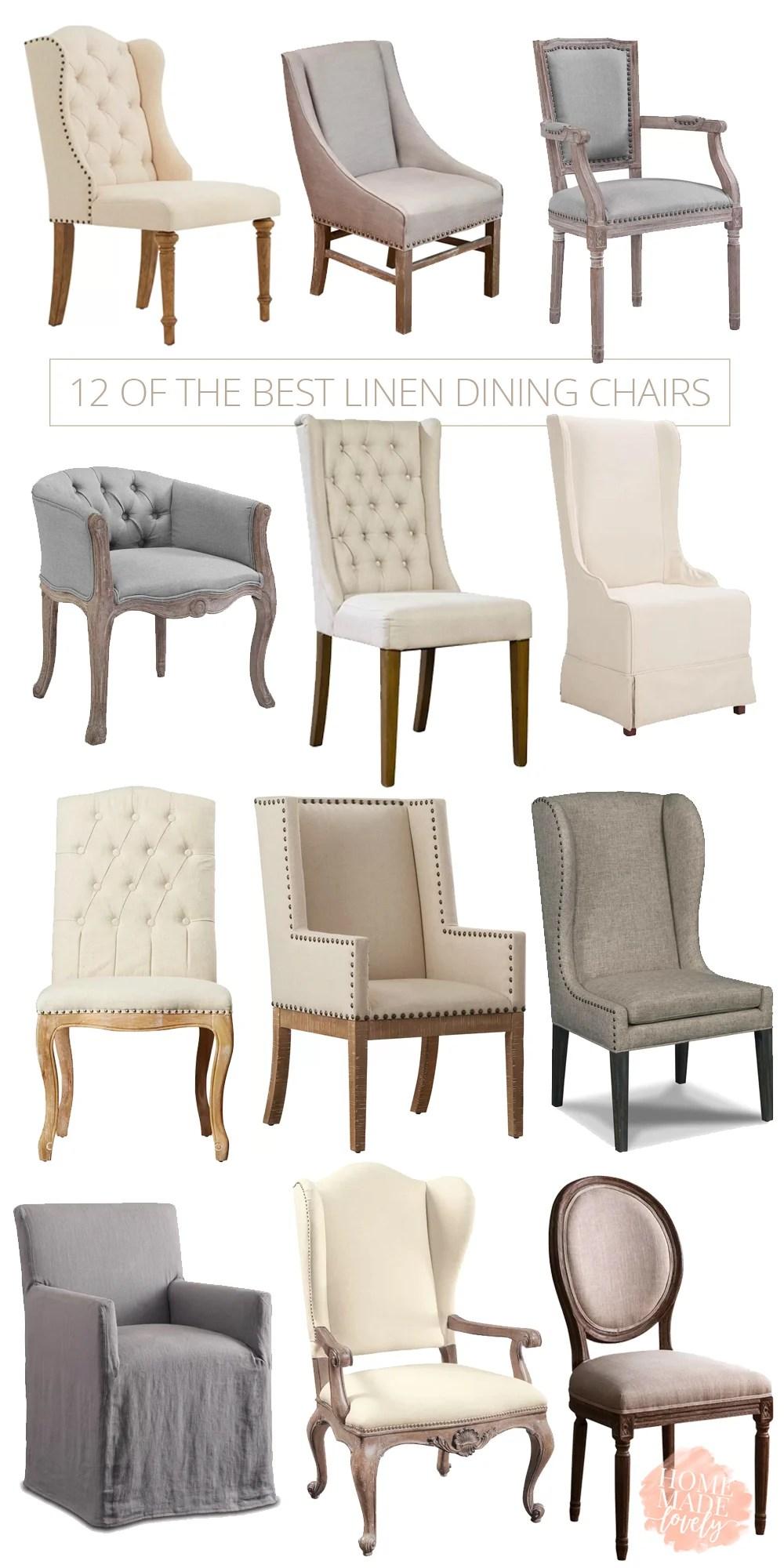 Linen Chairs