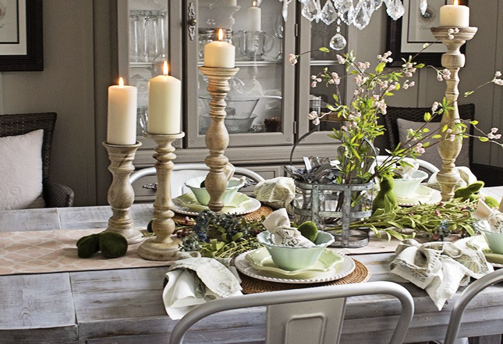 Spring Easter Dining Room AKA Design
