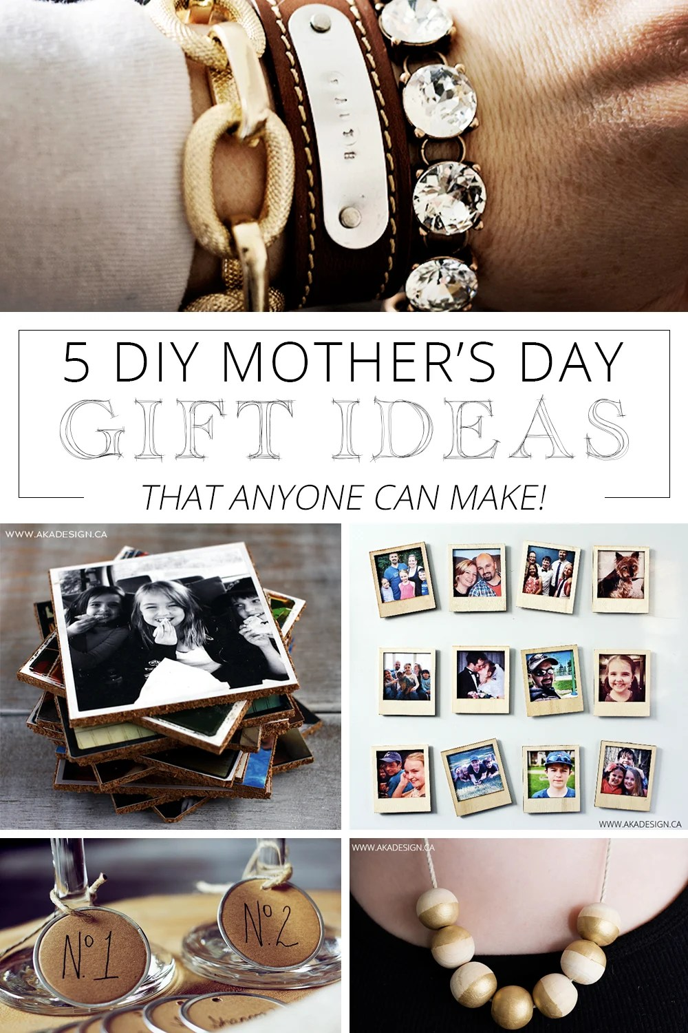 5 mother's day gift ideas anyone can make