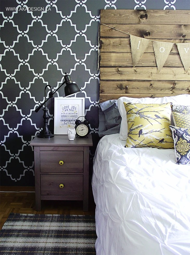 how to make a diy wood pallet headboard