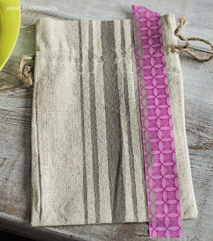 how to paint grain sack stripes step 4