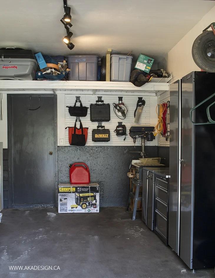 Garage Trackwall