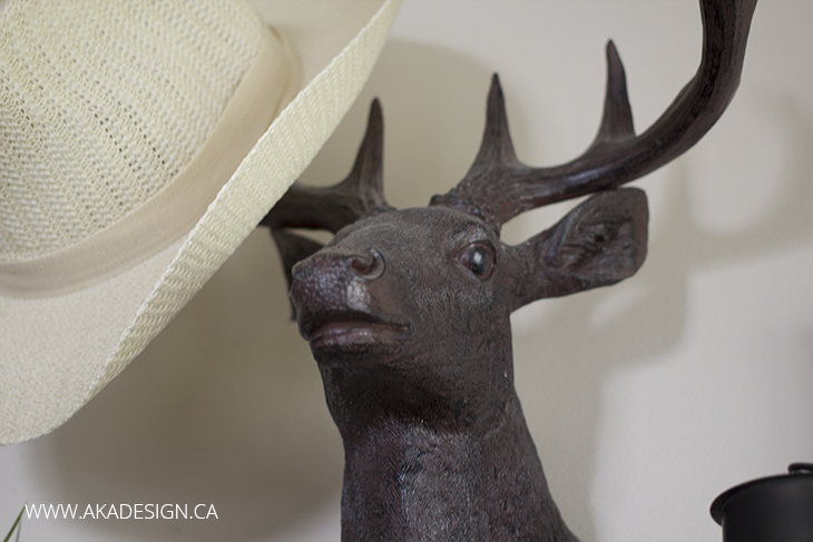 Oliver the stag head