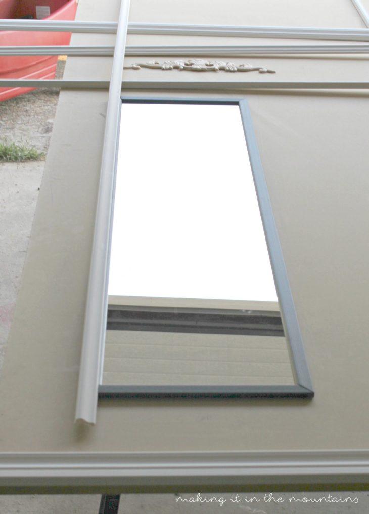 DIY Trumeau Mirror Tutorial
