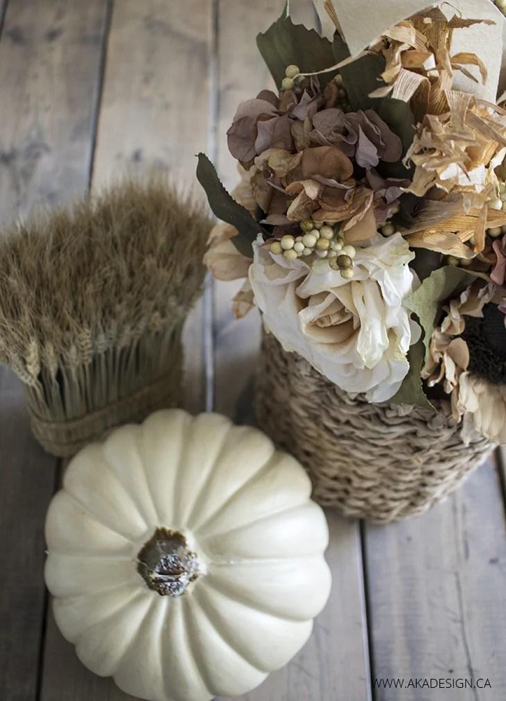 Fall Flower Basket