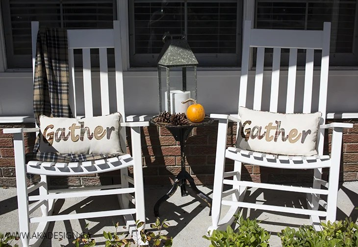 Home Made Lovely Porch Rockers