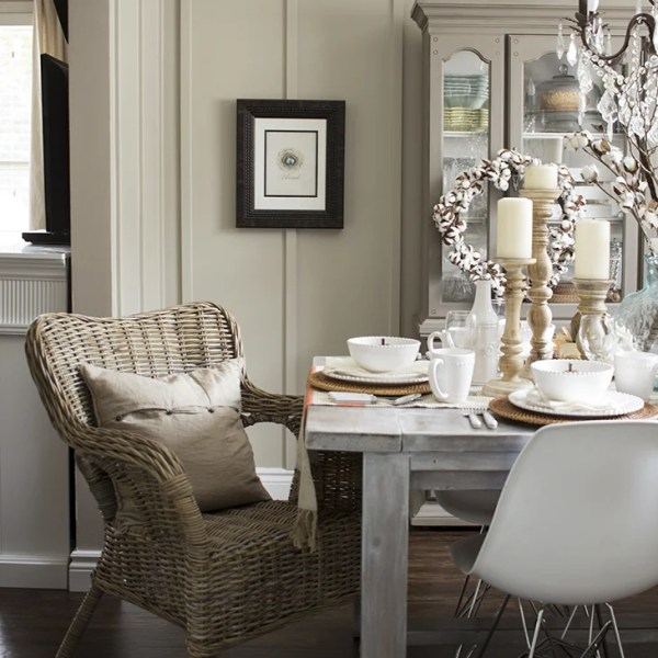 Early Fall Dining Room