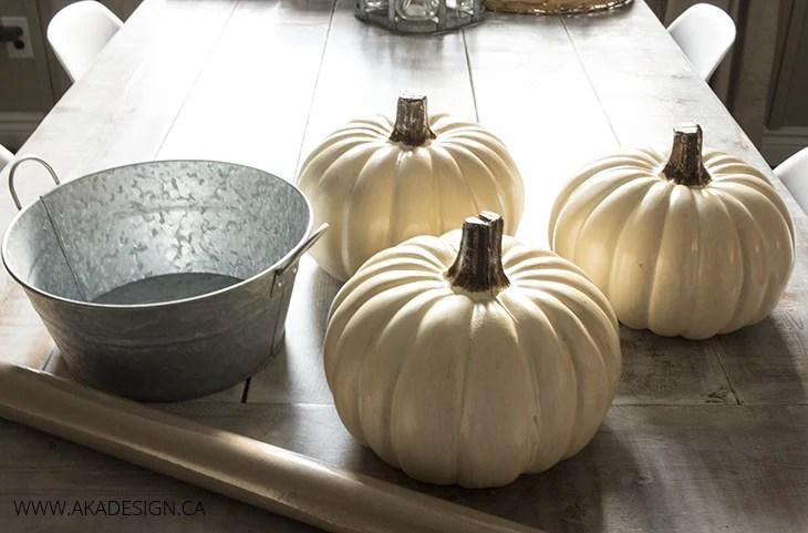 pumpkin tower supplies