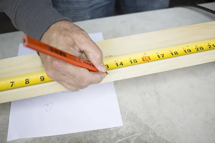 Measure Wood Home Made Lovely