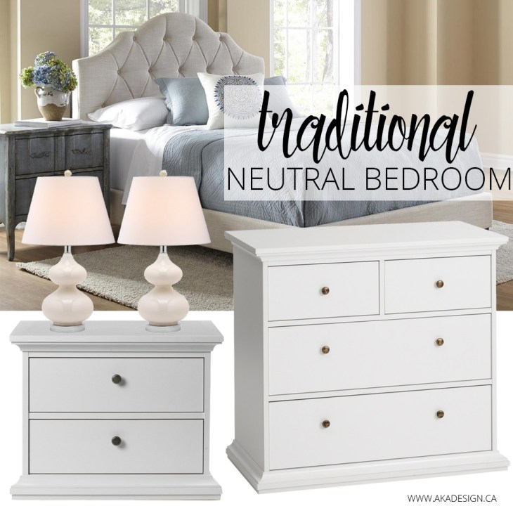 Traditional Neutral Bedroom Cymax