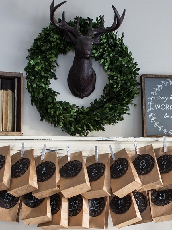 Make Your Own Advent Calendar – A Paper Bag Advent Calendar