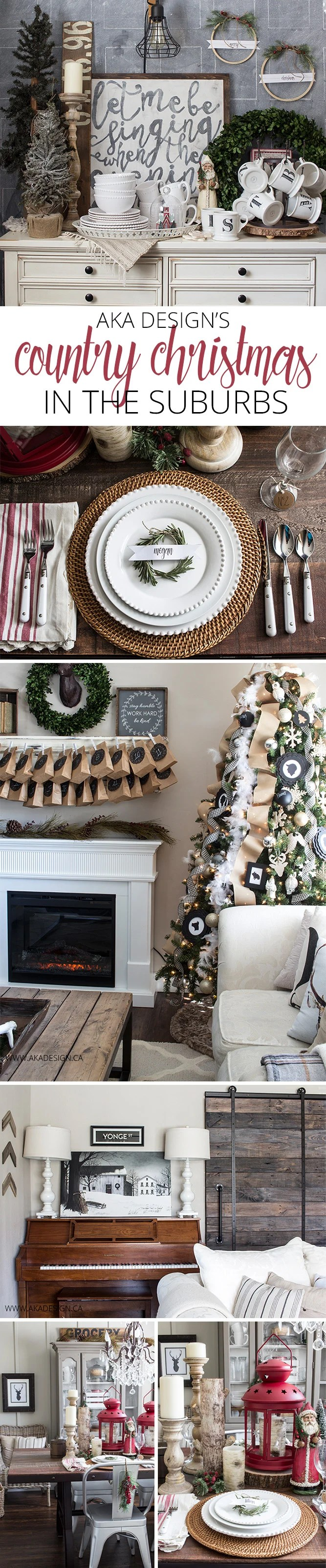 Home Made Lovely Country Christmas Home Tour