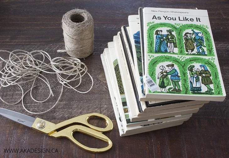 DIY Book Bundles Supplies