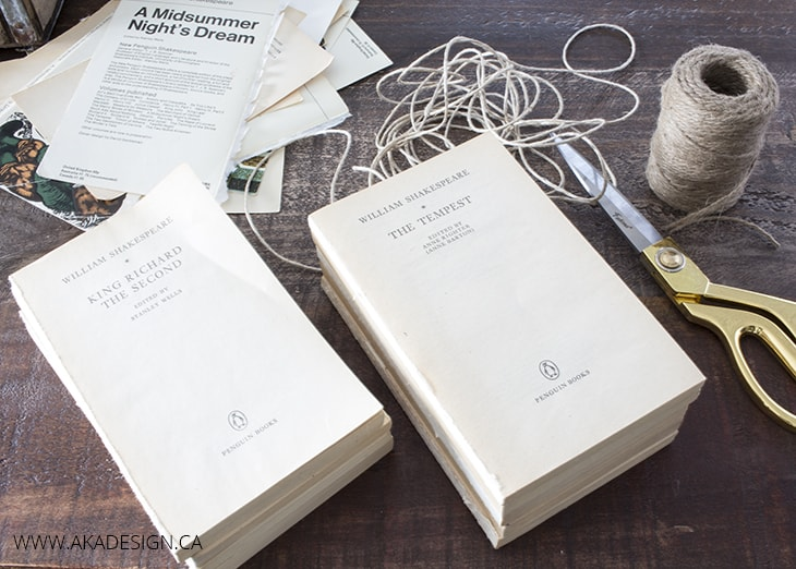 Stack the books