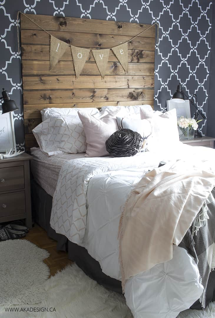 Master Bedroom Refresh with Blush Pink
