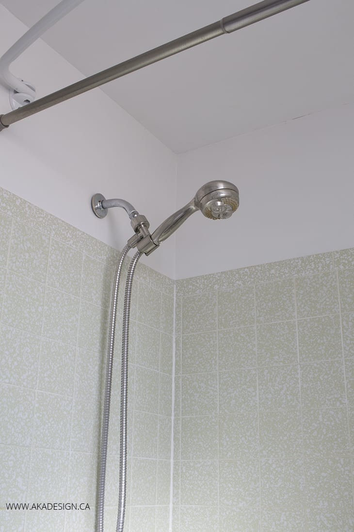 shower head before
