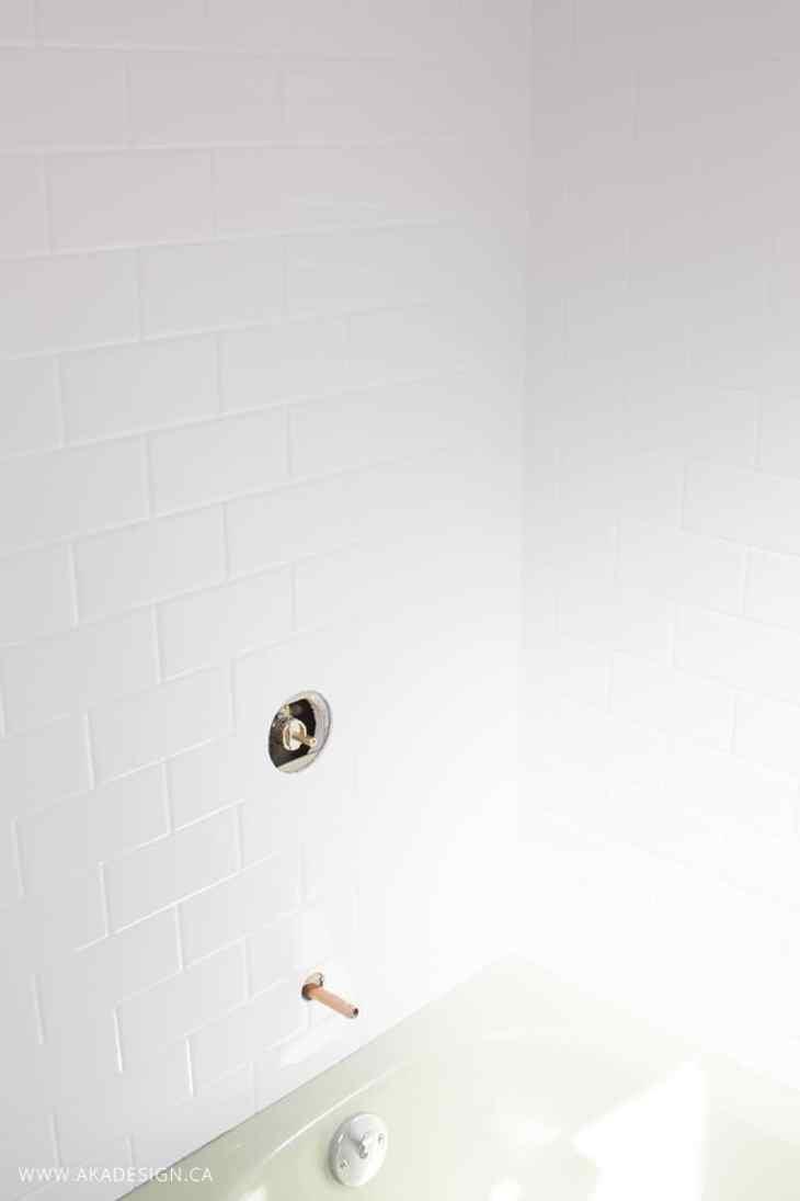 Bath Fitter one piece bath tub surround