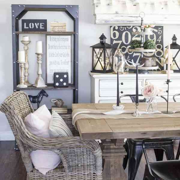 Restoration Hardware and Muskoka Living Interiors Look