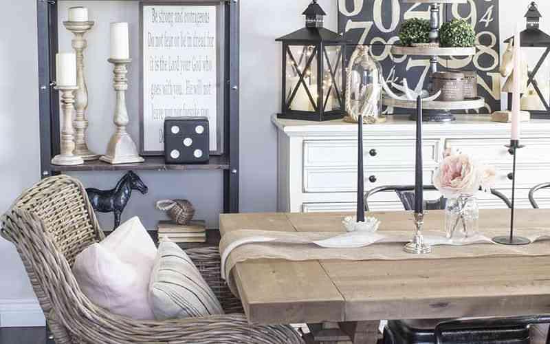 Restoration Hardware and Muskoka Living Interiors Look
