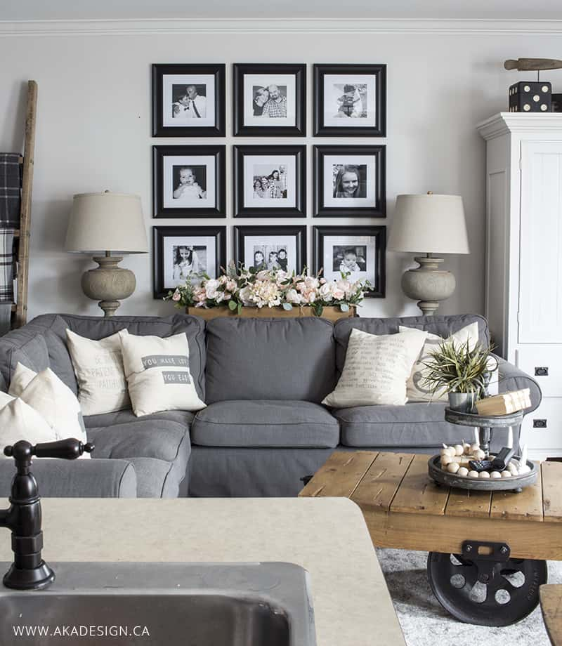 Wauwatosa Open Concept Family Room: How To Budget For Decorating So You Don't Overspend