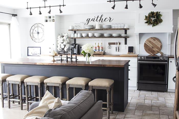 AKA Design modern farmhouse kitchen makeover