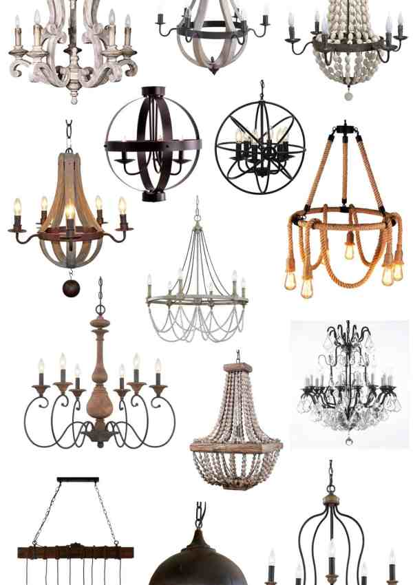 Farmhouse Chandeliers on Amazon!