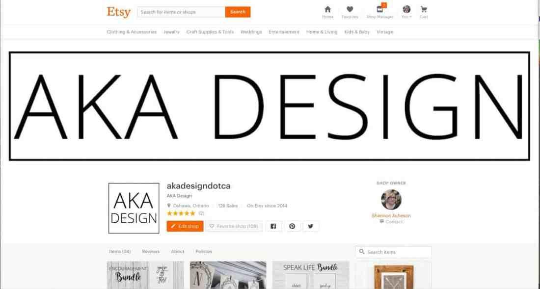 aka design etsy shop