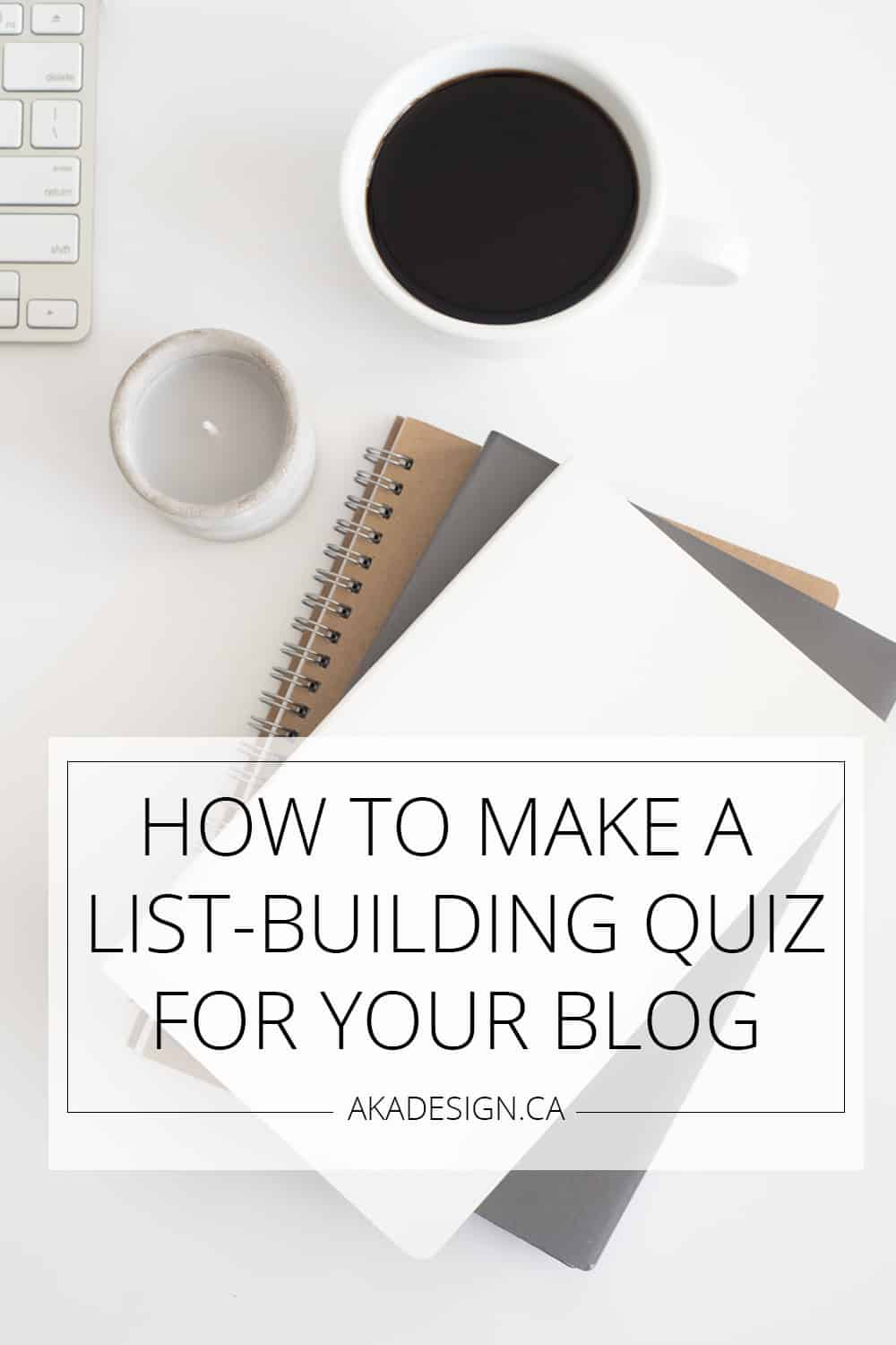how to make a list building quiz for your blog
