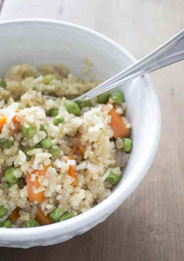 Vegan Vegetable Fried Rice | Easy and Budget-Friendly