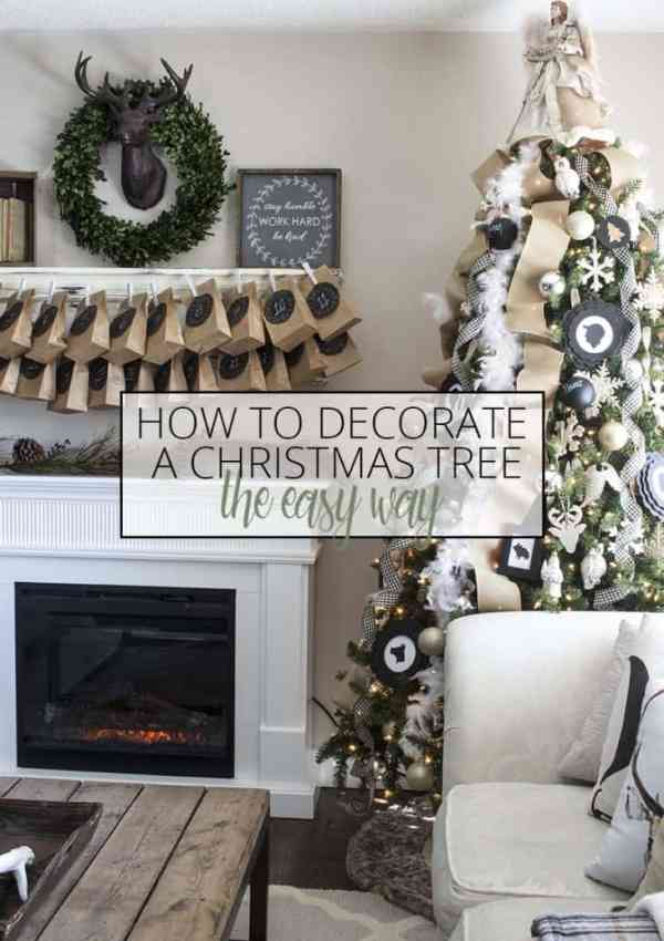 How to Decorate a Christmas Tree the Easy Way