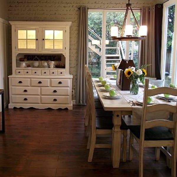 War Era Bungalow Dining Room