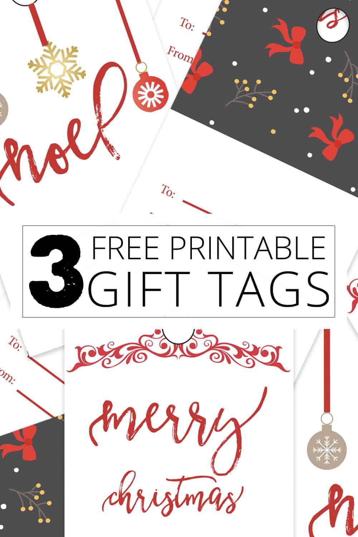 3 free printable gift tags
