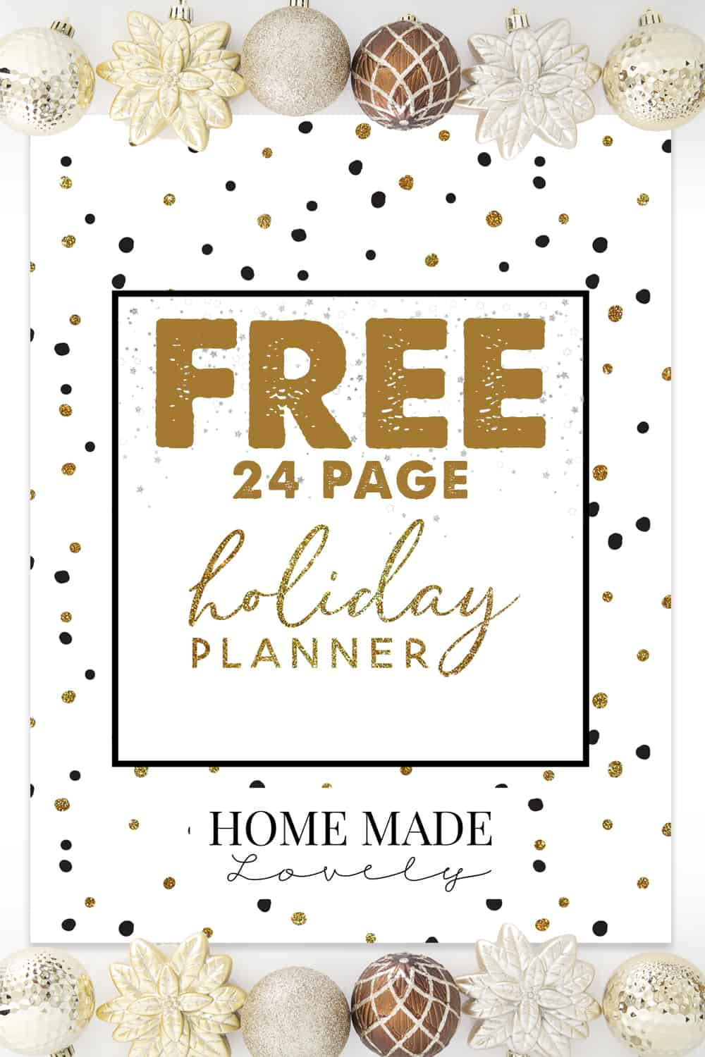 photograph regarding Free Printable Christmas Planner identify Absolutely free Getaway Planner Pack - 23 Totally free Printable Webpages in direction of System