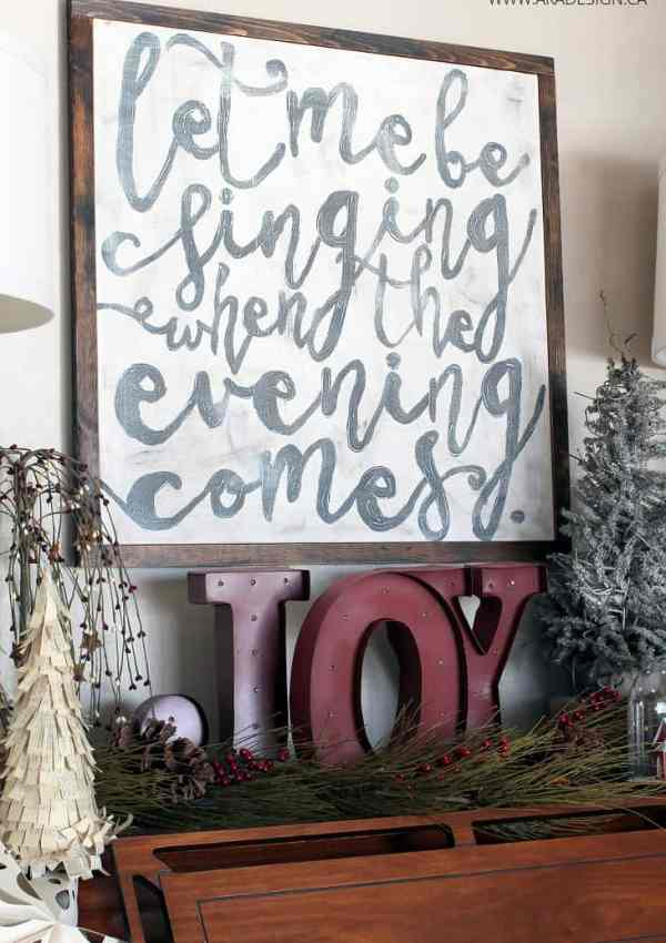 10 DIY Farmhouse Christmas Signs to Make This Holiday Season