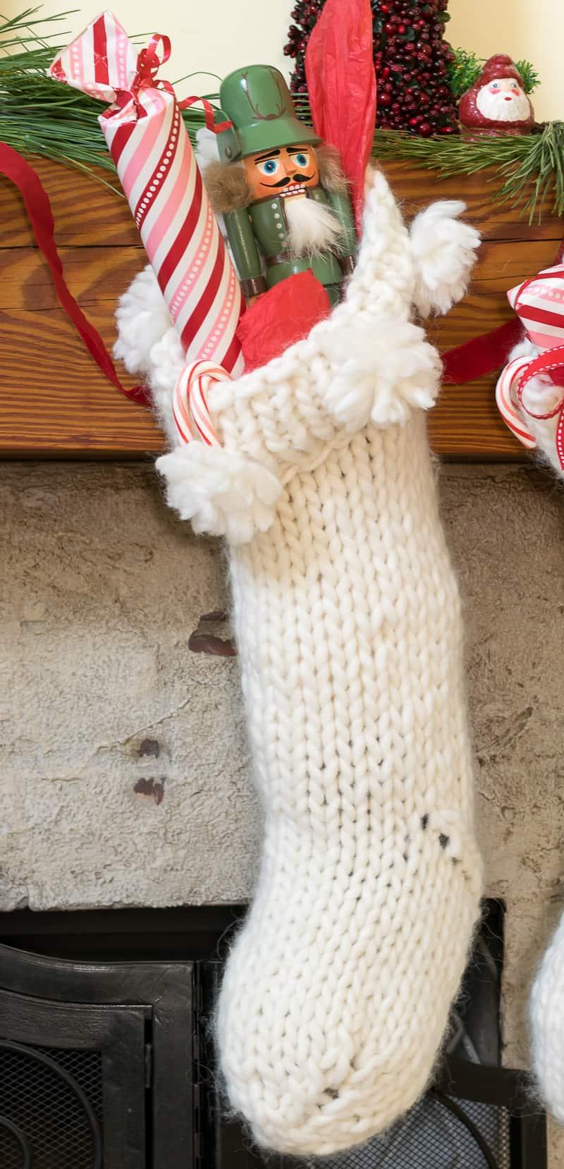 Nourish and Nestle Chunky Knit Stockings