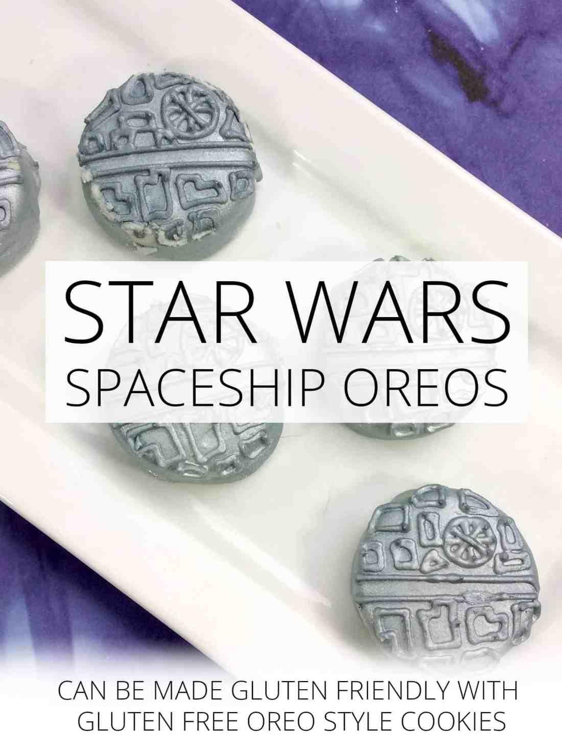 Star Wars Spaceship Oreos