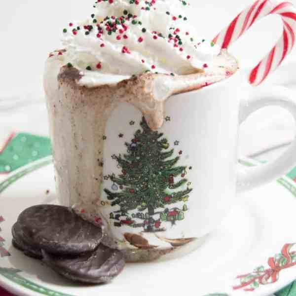 Thin Mint Hot Chocolate Recipe