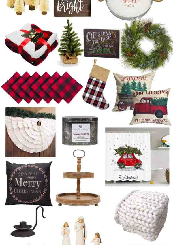 You'll Love these Farmhouse Christmas Decor Finds from Amazon