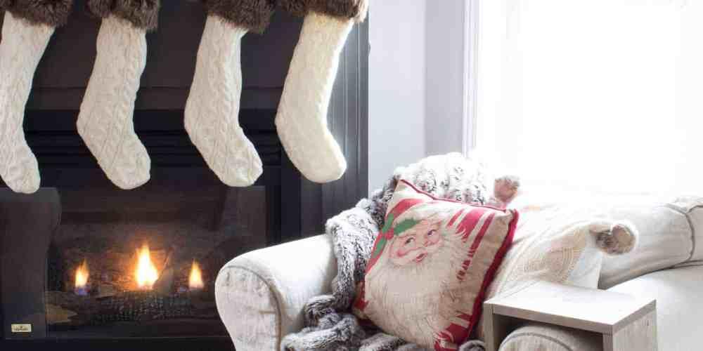 grey-fireplace-mantel-with-cream-stockings