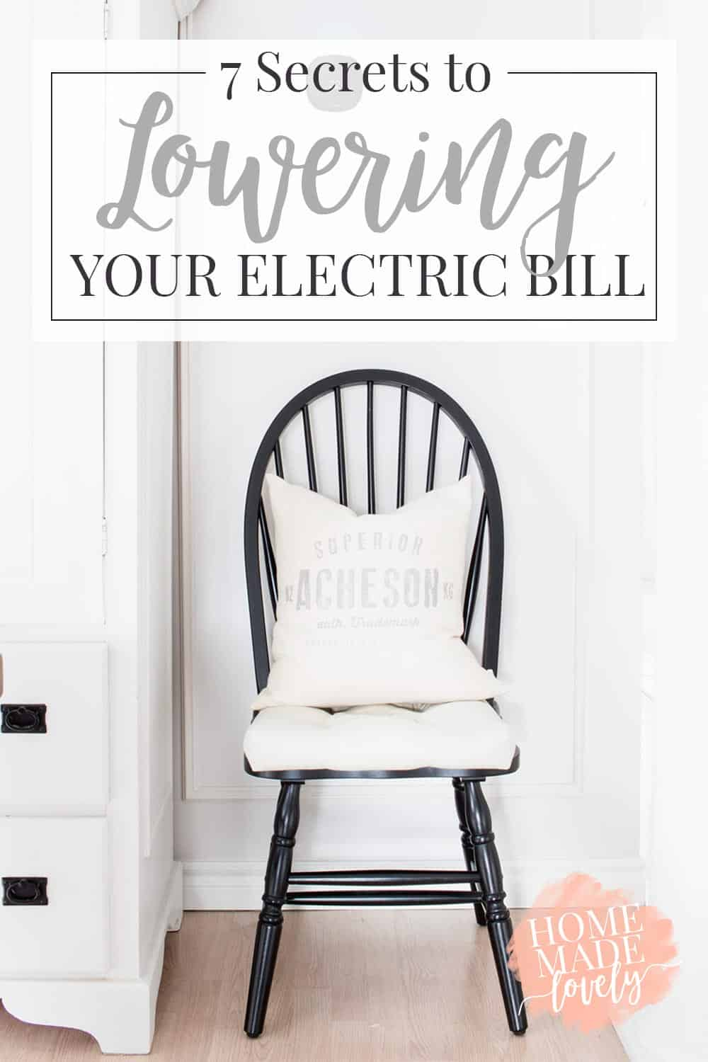 7 Secrets for lowering your electric bill