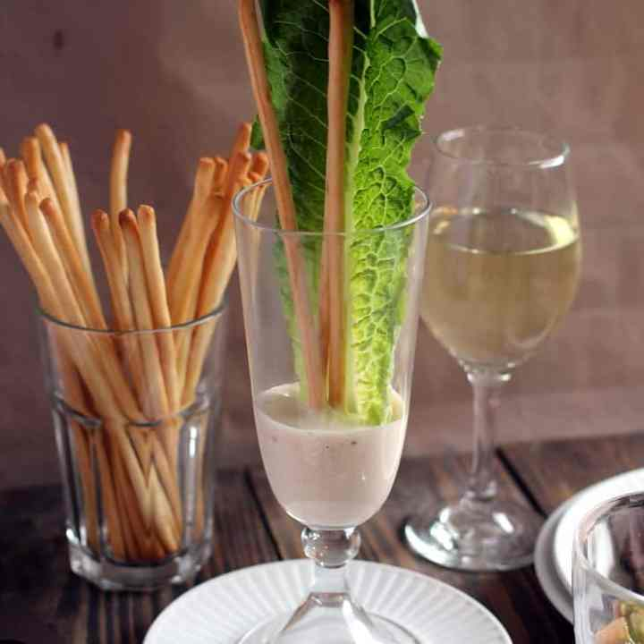The Best Caesar Salad Dressing Recipe Ever!