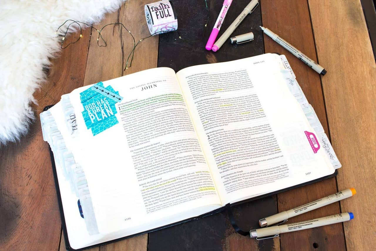 Bible Journaling for Beginners + Cozy Living Ideas