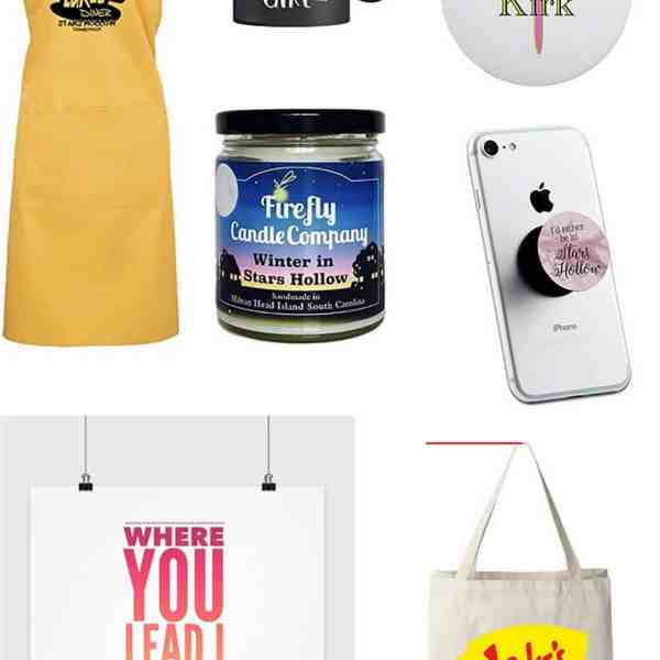 gilmore girl fan items